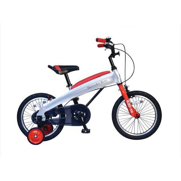 【代引不可】【法人限定】東部:メルセデス・ベンツ 幼児用自転車 16型 レッド MB-16