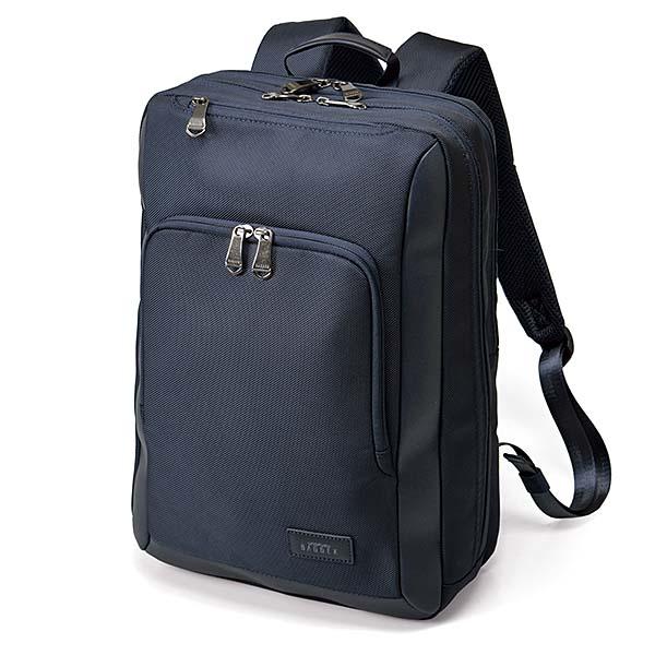 ウノフク:BAGGE VS-R デイパック ネイビーブルー 13-6104-80
