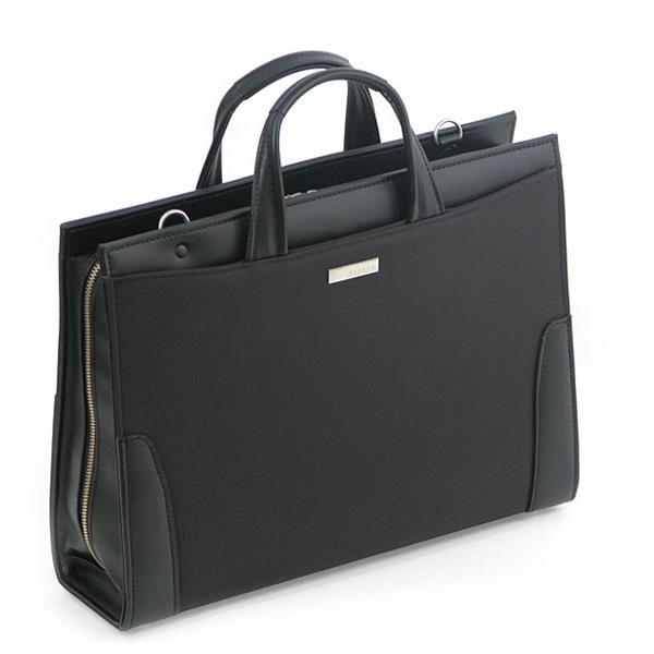 ウノフク:BAGGEX 鋼 ブリーフケース ブラック 24-0275-10