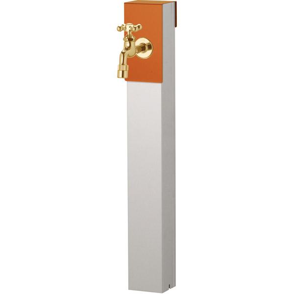 ユニソン(UNISON):リーナアロン 650スタンド テラコッタオレンジ シングル蛇口1個セット ゴールド 600611610