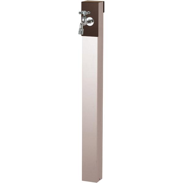 ユニソン(UNISON):リーナアロン 950スタンド チョコブラウン シングル蛇口1個セット シルバー 600621520