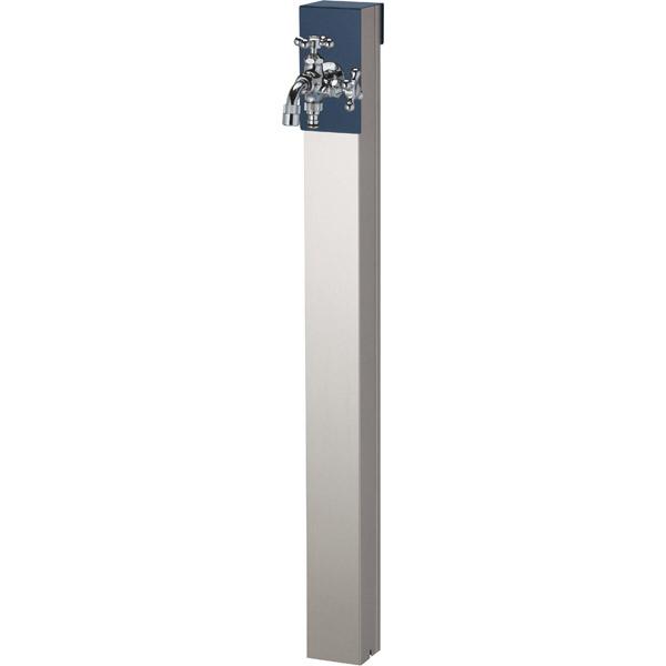 ユニソン(UNISON):リーナアロン 950スタンド ミッドナイトブルー ツイン蛇口1個セット シルバー 600622220