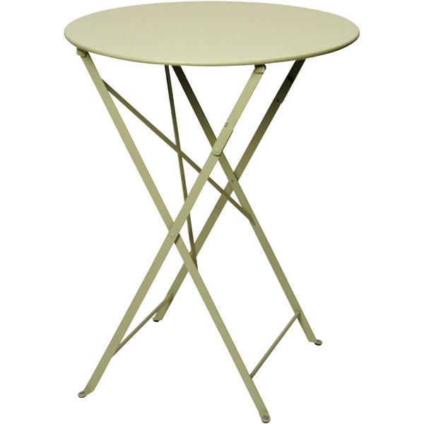 ユニソン(UNISON):ビストロテーブル600 (ウィローグリーン) 650211610
