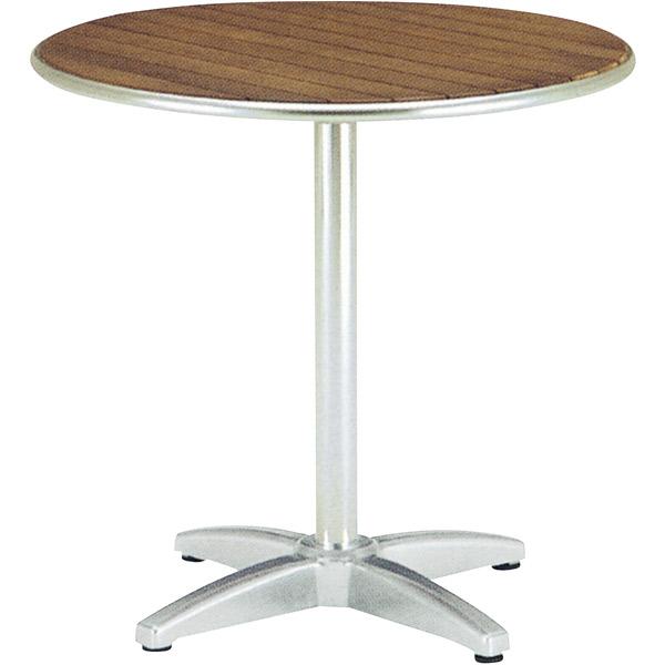 ユニソン(UNISON):ラウンドテーブル AU800 チーク 650702210