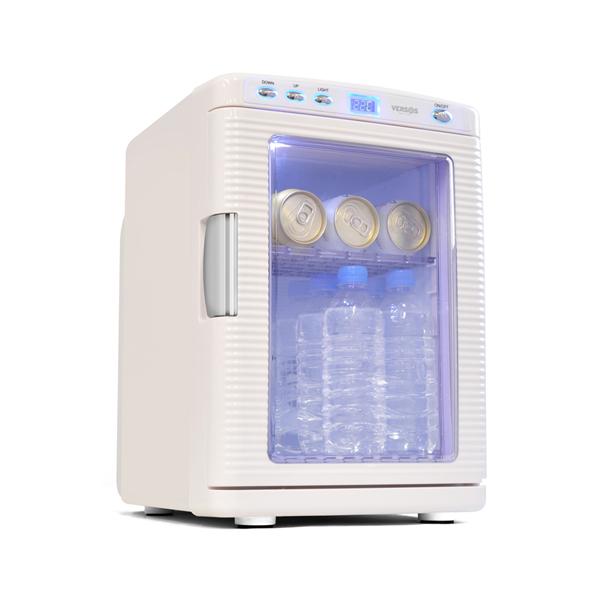 ベルソス:20L冷温庫 ホワイト VS-430WH