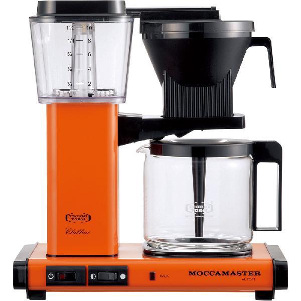 コントラスト:コーヒーメーカー オレンジ MM741AO-OR