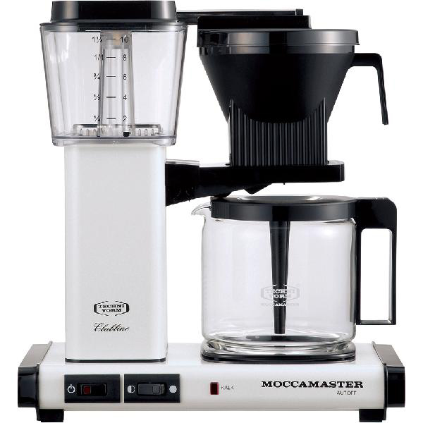 コントラスト:コーヒーメーカー メタリックホワイト MM741AO-MW