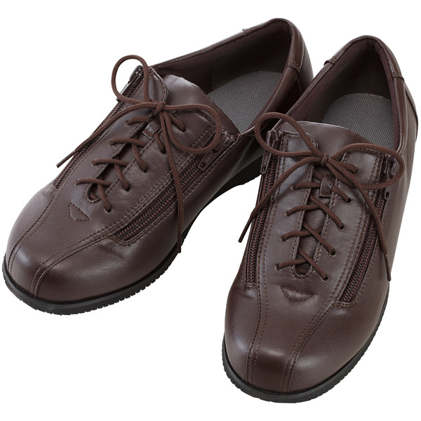 徳武産業:コンフォートIII 7E茶 LL 7040 介護 靴 シューズ 介護用品 リハビリ ウォーキング ケア 高齢者 シニア おしゃれ 運動 祖父 祖母 紳士 婦人 福祉 老人