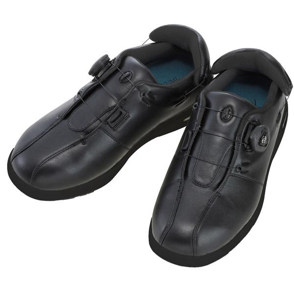 徳武産業:Boaオープン 黒 LL 1902 結ばない 介護 靴 シューズ 介護用品 リハビリ ウォーキング ケア 高齢者 シニア おしゃれ 運動 祖父 祖母 紳士 婦人 福祉 老人