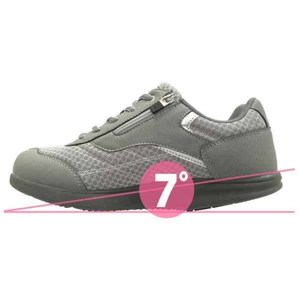 アスティコ:ロシオゴールド MS グレー 25.0 介護 靴 シューズ 介護用品 リハビリ ウォーキング ケア 高齢者 シニア おしゃれ 運動 祖父 祖母 紳士 婦人 福祉 老人