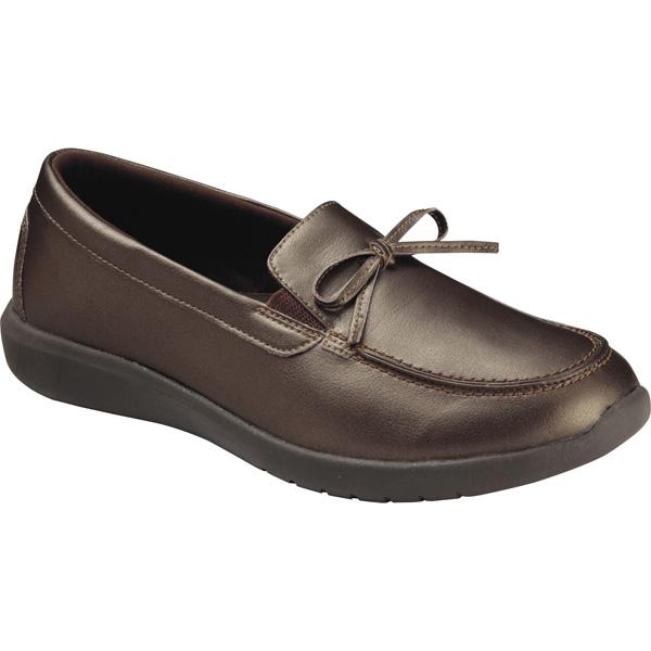 アシックス:ライフウォーカーニーサポート502(W)ブロンズ×ブロンズ24.5 TDL502 スリッポン 介護 靴 シューズ 介護用品 リハビリ ウォーキング ケア 高齢者 シニア おしゃれ 運動 祖母 婦人 福祉 老人