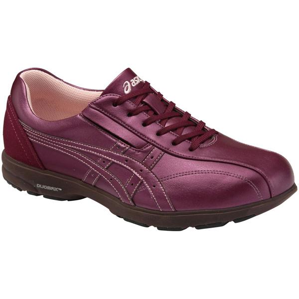 アシックス:ライフウォーカーニサポート500(W)ワイン25.0 TDL500.25 介護 靴 シューズ 介護用品 リハビリ ウォーキング ケア 高齢者 シニア おしゃれ 運動 祖父 祖母 紳士 婦人 福祉 老人