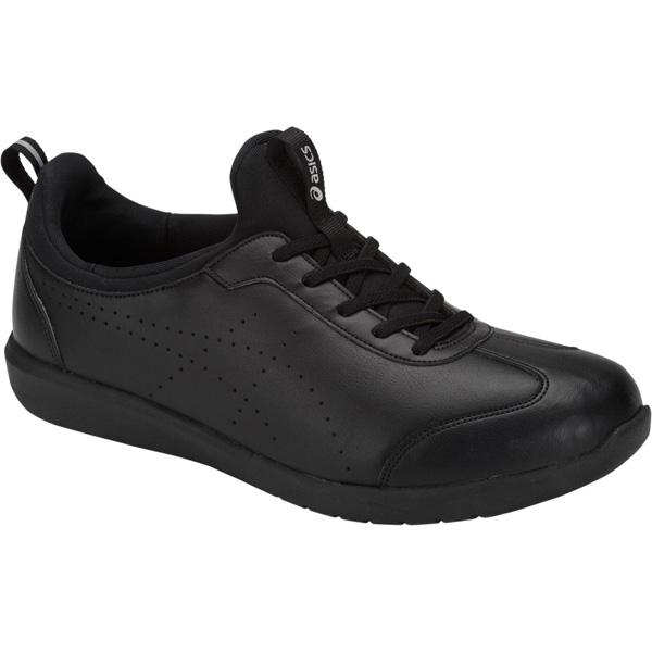アシックス:ライフウォーカーニーサポート3ブラック×ブラック25.5 1242A003 介護 靴 シューズ 介護用品 リハビリ ウォーキング ケア 高齢者 シニア おしゃれ 運動 祖父 祖母 紳士 婦人 福祉 老人