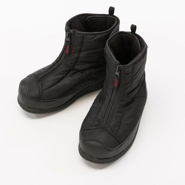 徳武産業:防寒ワイドブーツ 黒3L 5020 ファスナー 介護 靴 シューズ 介護用品 リハビリ ウォーキング ケア 高齢者 シニア おしゃれ 運動 祖父 祖母 紳士 婦人 福祉 老人