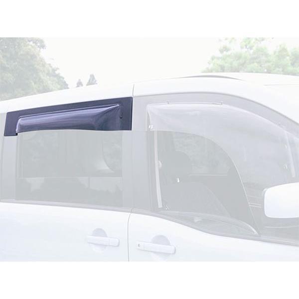 オックスバイザー:サイドバイザー ベイシックモデル ハイラックスサーフ(N180系)4ドア車専用 リヤ用 OXR-111