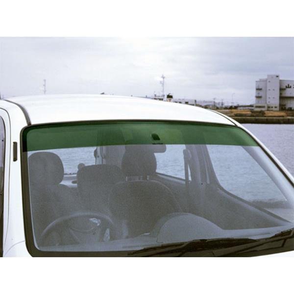 オックスバイザー:フロントシェイダー エヴォリューションワン グリーンスモーク モコ(MG22S)/MRワゴン(MF22S) オックス FS-195G