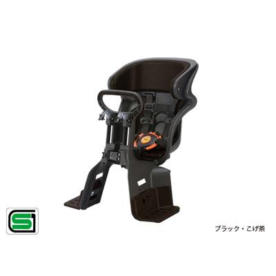 OGK技研(オージーケー技研):ヘッドレスト付き コンフォート フロント 子供のせ FBC-011DX3 ブラック・こげ茶 自転車 前用 チャイルドシート