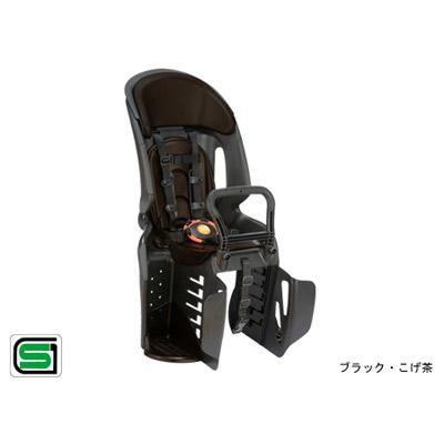OGK技研(オージーケー技研):ヘッドレスト付 コンフォート 後ろ 子供のせ RBC-011DX3 ブラック・こげ茶 自転車 リア用 チャイルドシート