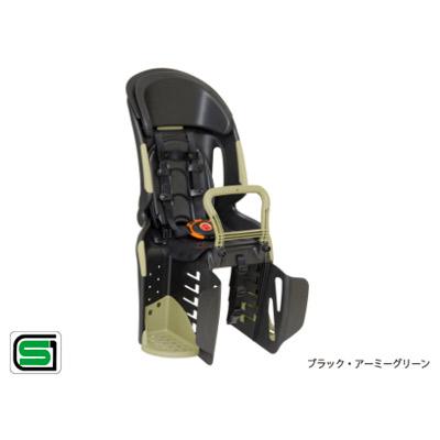 OGK技研(オージーケー技研):ヘッドレスト付 コンフォート 後ろ 子供のせ RBC-011DX3 アーミーグリーン 自転車 リア用 チャイルドシート