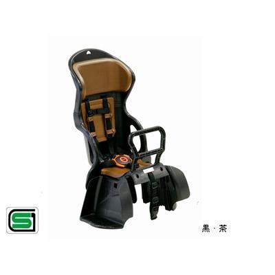 OGK技研(オージーケー技研):ヘッドレスト付 カジュアル 後ろ 子供のせ RBC-015DX 黒・茶 自転車 リア用 チャイルドシート