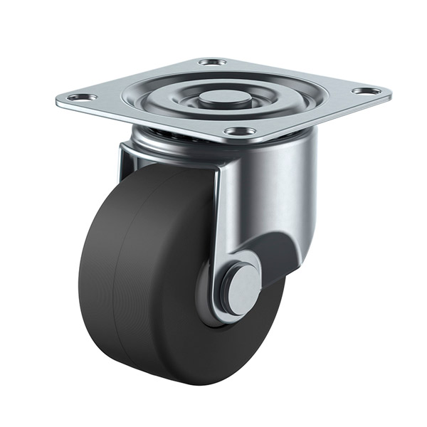 ユーエイ:CAL-Hシリーズ CAL-HG型 自在キャスター 導電MCナイロン(B入)車 車輪径 φ75 CAL-HG-75MCE