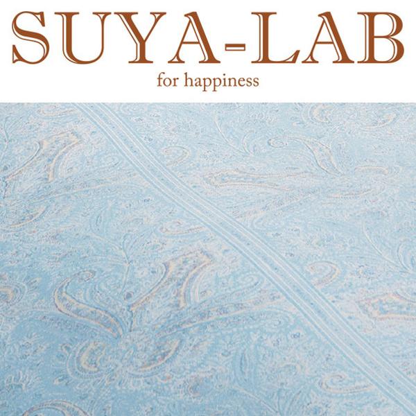 SUYA-LAB:掛けふとんカバー リンデンフラワー SL ブルー 22401-84110/302
