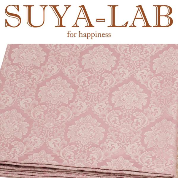 SUYA-LAB:ベッドスプレッド ダマスク B-SD ピンク 22410-89722/102