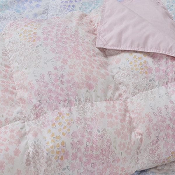 【代引不可】昭和西川:ウォッシャブル羽毛肌掛けふとん MM8002 ダブル (ピンク) 22112-59712/103(P)