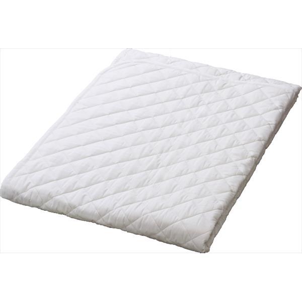 昭和西川:綿ベッドパッド SU3919 D 22411-86314/996(WH)