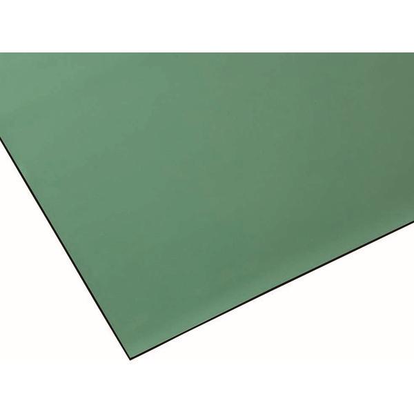 【代引不可】山崎産業:導電ラバーシート (幅1m×10m)(2mm厚) グリーン F-184-2-2