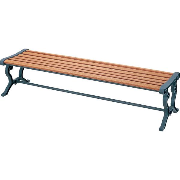 【代引不可】山崎産業:(屋内外用) 天然木ベンチ (背なし) YB-79L-WN