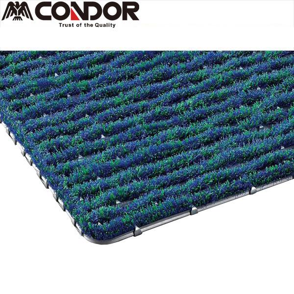CONDOR:ユニクリーンマット 600×900 F-23-4 オフィス 店舗 屋外 衛生 工場 現場 今月お買い得