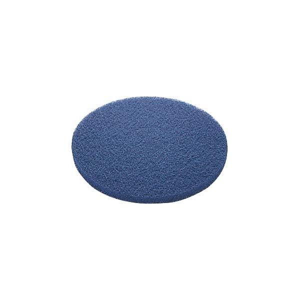 山崎産業:(床洗浄機 CSA-17BX-S用) 洗浄用フロアパッド BL (表面洗浄用) 5枚入 E-17-17-BL