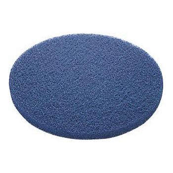 山崎産業:フロアパッドBL(表面洗浄用)(5枚入り) 9゛ E-17-9-BL