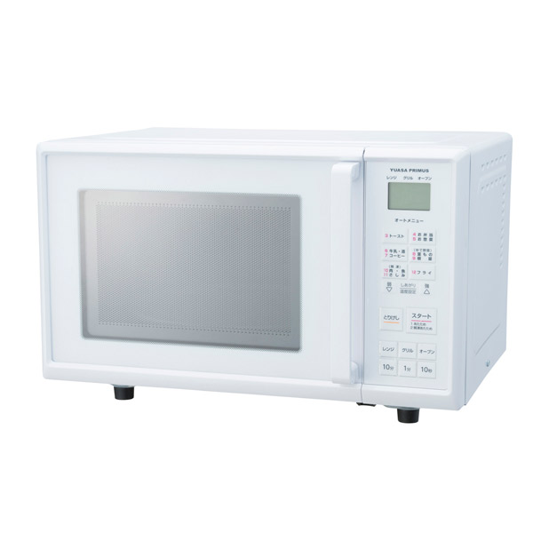 YUASA(ユアサ):オーブンレンジ PRV-201(W)