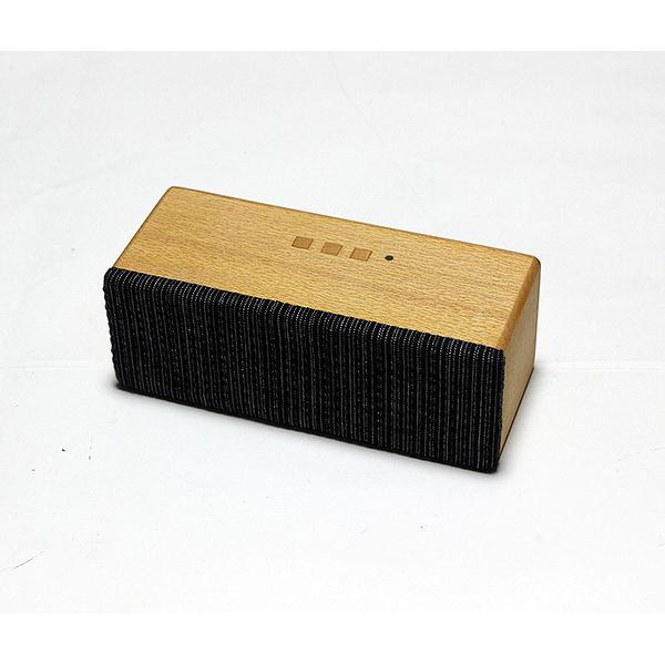 ヨシモク:SOUND FLY SJ 木製無線スピーカー ブナ ブラック SF-SJ BB