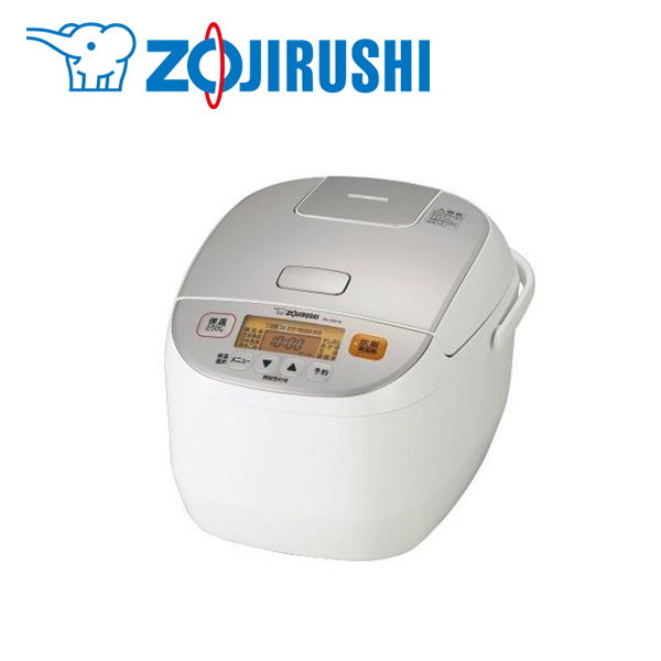 象印マホービン:マイコン炊飯ジャー 1升 ホワイト NL-DS18-WA