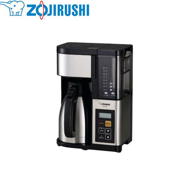 象印マホービン:コーヒーメーカー 1350ml ステンレスブラック EC-YS100-XB