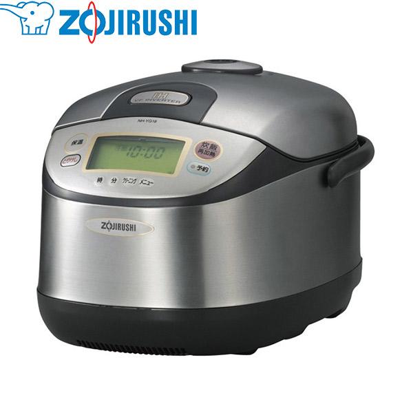 象印マホービン:業務用IH炊飯ジャー 1升 ステンレス NH-YG18-XA