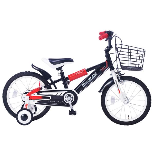 【代引不可】MyPallas(マイパラス):子ども用自転車 16インチ ブラック