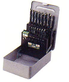 イシハシ精工:ドリルセット 武蔵 15本組 UMD-15S 000203550315