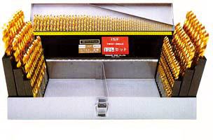イシハシ精工:ドリルセット TIN・CO正宗 121本組 TCOD-121S 000203550530