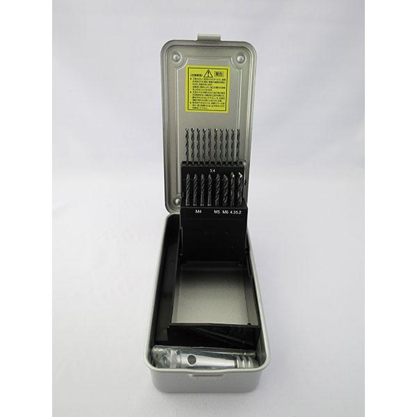 イシハシ精工:電設工事用スパイラルタップ・ドリルセット ESD-26S 000203560033
