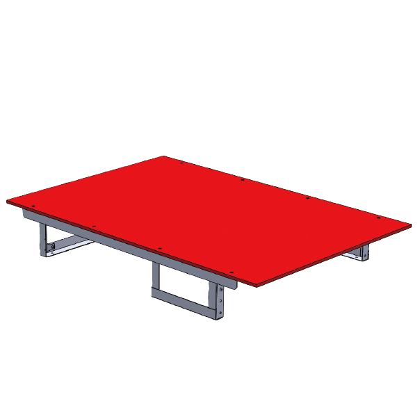 ジェフコム:バンキャビネット(テーブル) SCT-T02