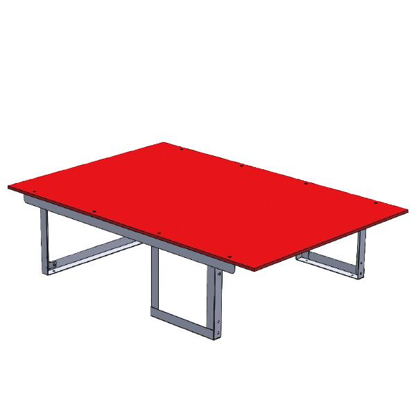 ジェフコム:バンキャビネット(テーブル) SCT-T07