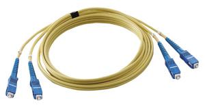DENSAN:オプティカルファイバーパッチケーブル LFV-SCSM-10
