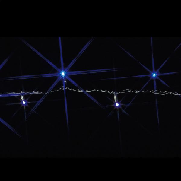 JEFCOM(ジェフコム):LEDストリング(SJシリーズ) 白×青 30m SJ-E05-30WB