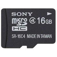 SONY(ソニー):microSDHCメモリーカード 16GB SR-16A4  856783
