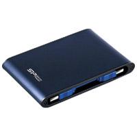 シリコンパワー:防水耐衝撃ポータブルHDD 1.0TB SP010TBPHDA80S3B 870094