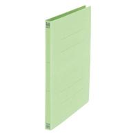 プラス:フラットファイル No.021N A4S 緑 300冊  340048